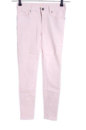 Mango Röhrenjeans pink Casual-Look