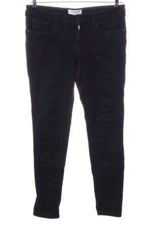 Mango Jeans a sigaretta nero stile casual