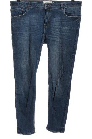 Mango Jeans cigarette bleu style décontracté