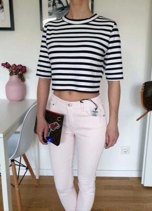 Mango Röhrenjeans XXS XS 32 34 rosa skinny Röhre Jeans Hose Pants Leggings Neu