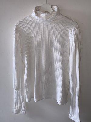 Mango Basics Turtleneck Sweater white-natural white