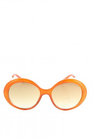 Mango runde Sonnenbrille hellorange Casual-Look