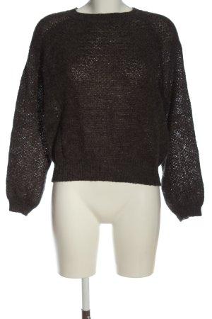 Mango Crewneck Sweater black casual look