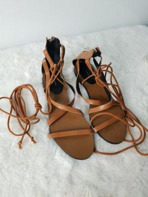 Mango Strapped Sandals multicolored