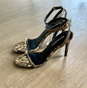 MANGO Sandaletten 37 Leo Gelb High Heels