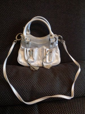 MANGO Satin Mini Tasche