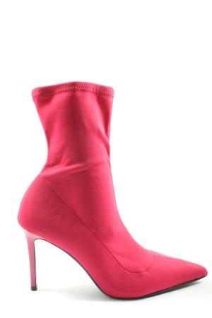 Mango Schlüpf-Stiefeletten pink Casual-Look