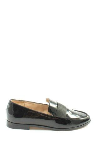 Mango Schlüpfschuhe schwarz Elegant