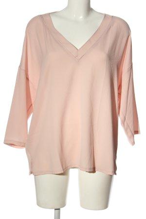 Mango Schlupf-Bluse pink Casual-Look