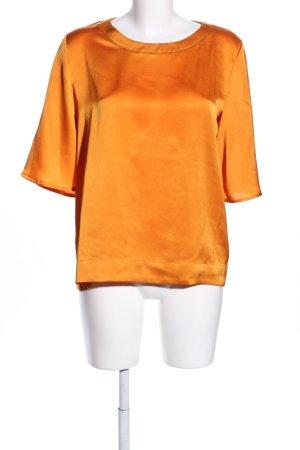 Mango Schlupf-Bluse hellorange Casual-Look