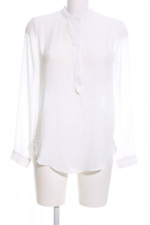 Mango Slip-over Blouse white business style