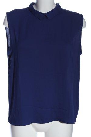Mango Bluzka przez głowę niebieski W stylu biznesowym