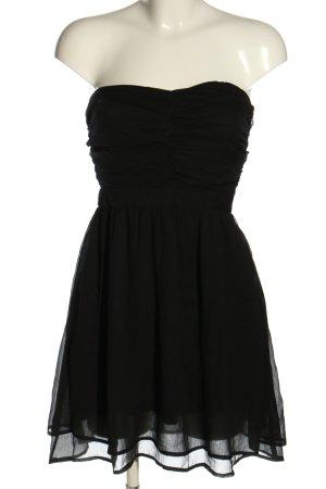 Mango Off-The-Shoulder Dress black elegant