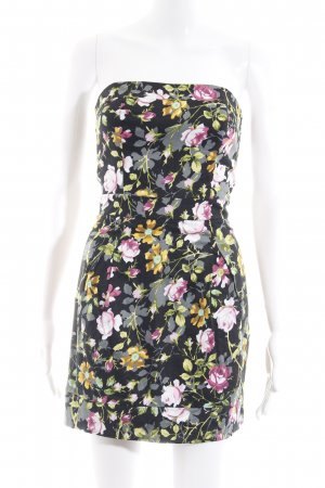 Mango schulterfreies Kleid Blumenmuster Casual-Look