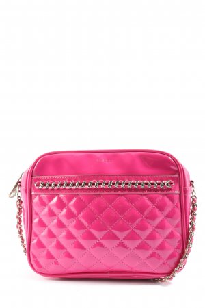 Mango Schultertasche pink Steppmuster Casual-Look