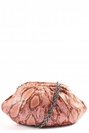 Mango Schultertasche pink Animalmuster Casual-Look