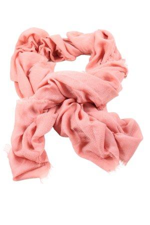 Mango Schoudersjaal roze casual uitstraling