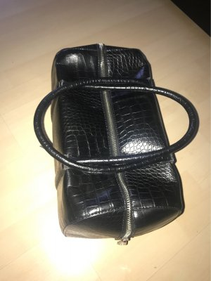Mango schwarze Bowling Tasche