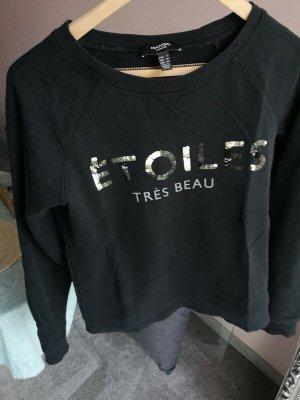 MANGO schwarzer Pullover Gr. s