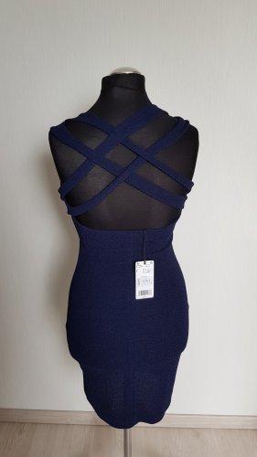 Mango sexy Kleid navy blau Gr.S