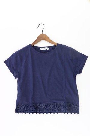 Mango T-shirt blu-blu neon-blu scuro-azzurro Cotone