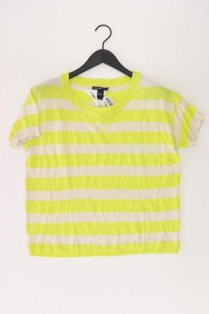Mango Shirt gelb gestreift Größe XS