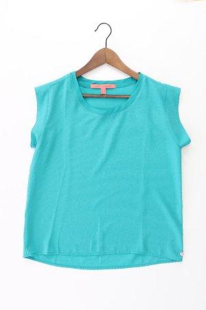 Mango Oversized Shirt turquoise