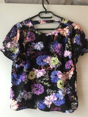 Mango Shirt mit floralem Muster