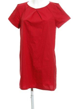 Mango Shirtkleid rot Casual-Look