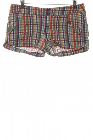 Mango Shorts Karomuster Casual-Look