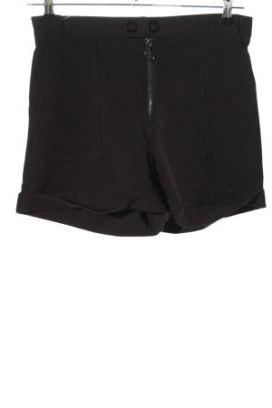 Mango Shorts schwarz Casual-Look