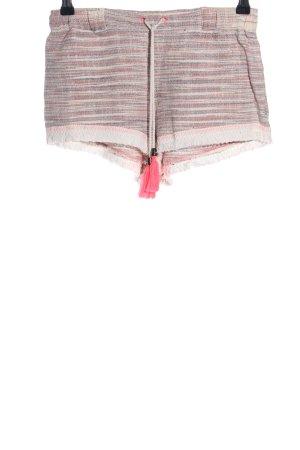 Mango Shorts Streifenmuster Casual-Look