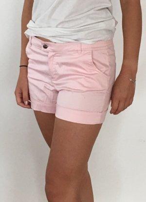 Mango Shorts Hotpants Rosa