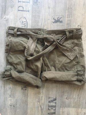 Mango Shorts Military Small