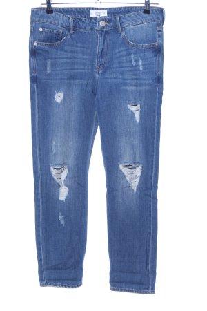 Mango Skinny Jeans blue casual look