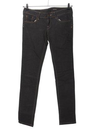 Mango Skinny Jeans black casual look