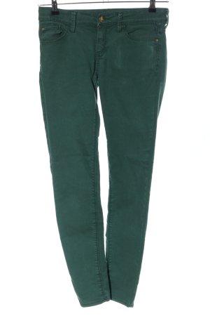 Mango Skinny Jeans grün Casual-Look