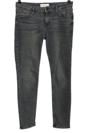 Mango Skinny Jeans schwarz meliert Casual-Look