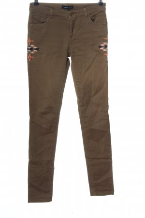 Mango Skinny Jeans grafisches Muster Casual-Look