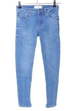 Mango Skinny Jeans blau Casual-Look