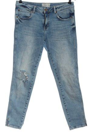Mango Skinny Jeans blau Elegant
