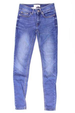 Mango Jeans skinny blu-blu neon-blu scuro-azzurro Cotone