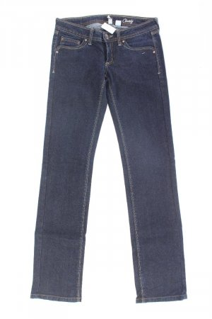 Mango Skinny Jeans Größe 34 blau aus Baumwolle