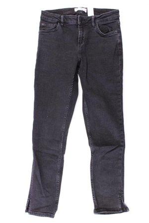Mango Skinny Jeans Größe 34 grau aus Baumwolle