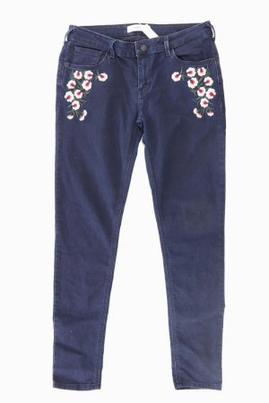 Mango Skinny Jeans Größe 40 blau aus Baumwolle