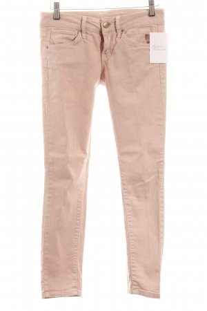 Mango Skinny Jeans rosé Casual-Look