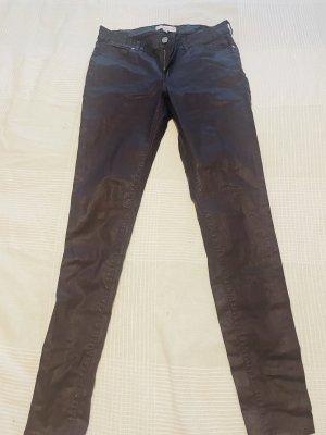 Mango skinny jeans violet