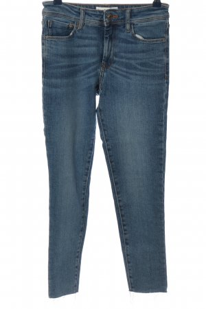 Mango Jeans slim bleu style décontracté