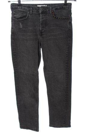 Mango Slim Jeans hellgrau Casual-Look