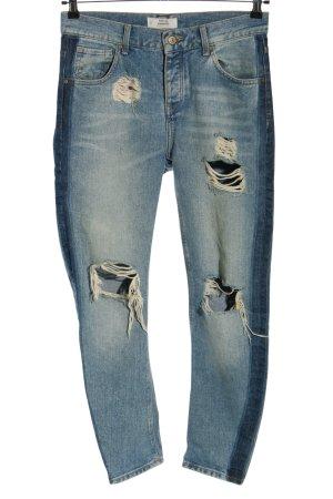 Mango Slim Jeans blau Casual-Look